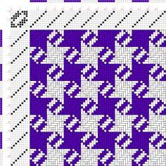 draft image: Figurierte Muster Pl. XXI Nr. 9, Die färbige Gewebemusterung, Franz Donat, 8S, 8T