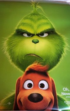 The Grinch Poster D/S Brand New Never Used near mint 2018 Movies, Movies Online, Christmas Pictures, Kids Christmas, Watch The Grinch, New Hollywood Movies, Grinch Who Stole Christmas, Xmas Wallpaper, Disney Lion King