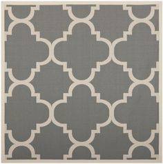 Safavieh CY6243-246 Courtyard Collection Indoor/Outdoor Square Area Rug, 7-Feet 10-Inch, Grey and Beige Safavieh http://www.amazon.com/dp/B00BU05E50/ref=cm_sw_r_pi_dp_67Laub1CTT9ME