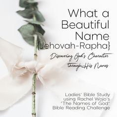 what a beautiful name {jehovah-rapha: my healer} Miracles Jesus Performed, Lay Down Your Burdens, What A Beautiful Name, Justified By Faith, Bible Study Group, Feeling Broken, Peace Be Upon Him, Names Of God, The Son Of Man
