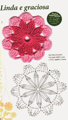 Crochet flower...