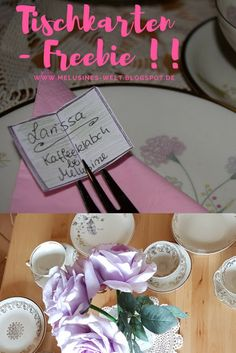 Tischkarten in Buchform für liebe Gäste – Tischdekoration Namensschilder- #Tischdekoratin #Dekoration #Namensschild #Tischschild #Buch #Basteln #Selbermachen #DIY auf www.Melusines-Welt.blogspot.de