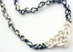 Celtic knot necklace DIY