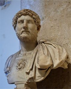 Publius Aelius Hadrianus Augustus, better know as Hadrian. The itinerant Emperor kicked off the fashion for beards for his successors, which Roman's generally saw as dangerously Greek and effeminate.