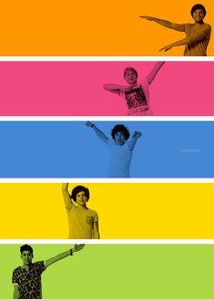 #OneDirection full colour :D