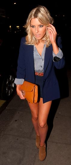 Mollie from the Saturdays. Her hair <3