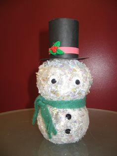 16 Best Pom Bottle Crafts Images Bottle Crafts Diy Christmas