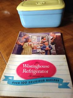 Vintage Hall China for Westinghouse Refrigerator 50's Dish Recipe Book 1947