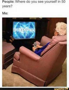 My gran loves supernatural