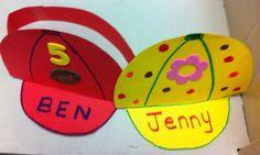 Baseball Crafts For Preschoolers | Pinned by Debbie Hudson