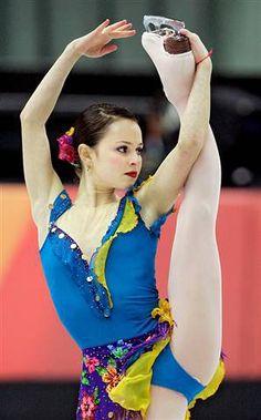 Sasha Cohen - USA - silver at the 2006 Olympics