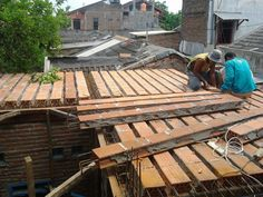 Dak keraton , solusi hemat dak lantai bangunan: FOTO PROYEK