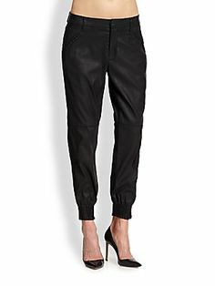 7 For All Mankind Coated Track Pants