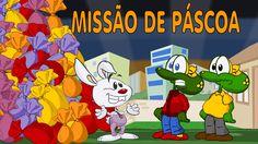 Sapo Brothers em: Missão Páscoa. Desenho animado infantil, brasileiro, d...