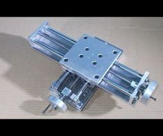 Homemade Mini Milling Router Mill DIY X Y Axis Slide Stage Frame CNC for 3D Printer Machine
