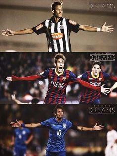 Neymar Jr, Santos / Barcelona / Brazil