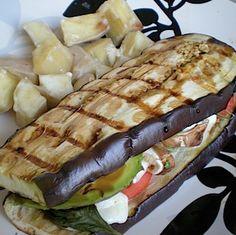 eggplant sandwich