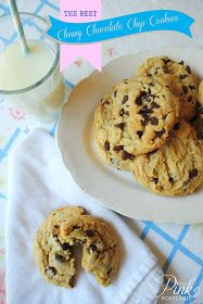 *Pink Postcard*: The Best chewy chocolate chip cookies