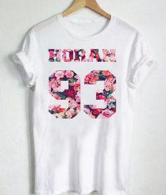 Unisex Tshirt Niall Horan 93 Design One Direction Tshirt , T-Shirt