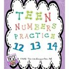 This product is the second part of my Numbers Practice 1-10 activity.  If you are interested in purchasing these products as a bundle, please retur...