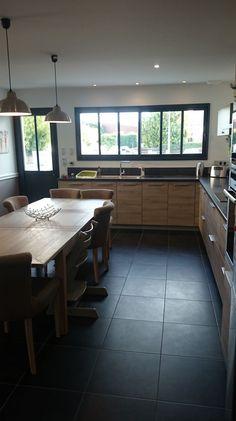 Cuisine 28m2 ambiance classique - Gironde (33) - aout 2014