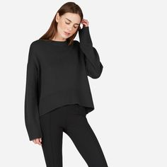 The Soft Cotton Square Crew | Everlane