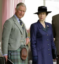 Prince Charles and Princess Anne