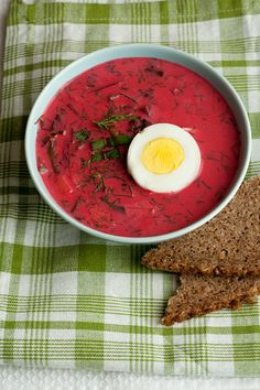 "TASTY TRIX: Cool Summer Borscht (Barszcz) from ""Polish Classic Recipes"""