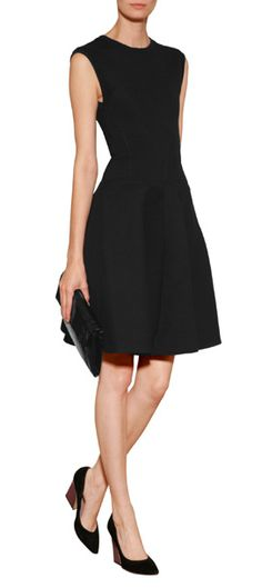 Ladylike but with urban edge, this versatile cotton-blend dress from Faith Connexion offers a multitude of trend-right style options #Stylebop
