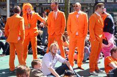 Dress code: Orange