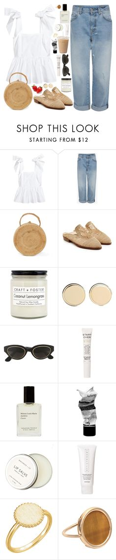 """SO LONG, SUMMER / /"" by queen-laureen ❤ liked on Polyvore featuring Robert Clergerie, Craft + Foster, Givenchy, RetroSuperFuture, Sunday Riley, Aesop, Birchrose + Co., Chantecaille, Ginette NY and pleats"