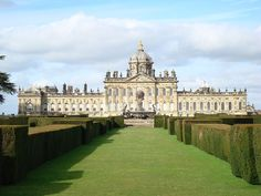 Caste Howard:  North Yorkshire, England. Location of the classic TV series Brideshead Revisited.