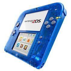 Nintendo 2DS Azul Transparente por 69 euros!! 36% de descuento!!