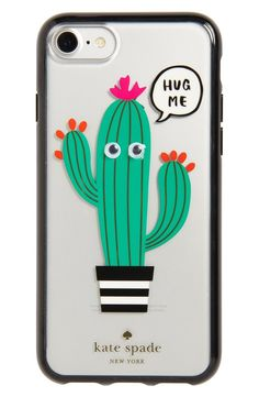 This cacti themed phone case by Kate Spade is perfect for anyone in need of some extra personality.