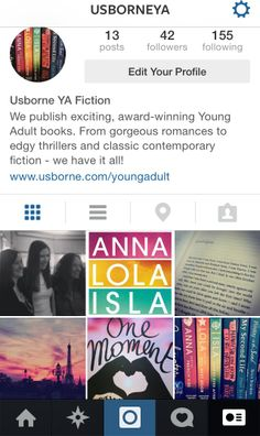 This week we launched our new Instagram page dedicated to Usborne Young Adult fiction. Love #books, #YA and pretty pictures? Head over to http://instagram.com/usborneya to follow!