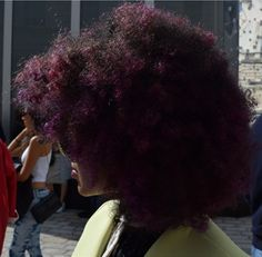 Big hair was flavour of the week this year at LFW!   Mint Velvet