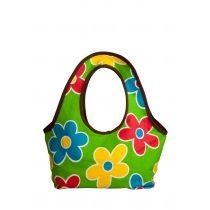 City Floral - Leaf Green. a beautiful handbag for girls