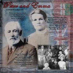 Peter and Emma...love the enlarged photo with the smaller one...great faded background embellishments...wonderful digi page.