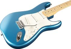 Fender Standard Stratocaster Electric Guitar Lake Placid Blue Gloss Maple Fretboard