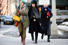 On the Streets of New York Fashion Week Fall 2015 - New York Fashion Week Fall 2015 Street Style Day 5-Wmag