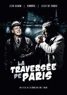 Affiche du film La Traversée de Paris                                                                                                                                                                                 Plus