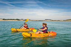 Canoë-Kayak sur les plages de Barneville-Carteret