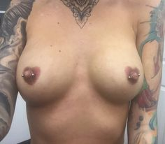 Nipple Rings, Some Body, Piercing Tattoo, Tattoos For Women, Body Art, Boobs, Breast, Sexy, Naked