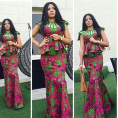 Checkout This Creative Ankara Skirt and Blouse Style - DeZango Fashion Zone