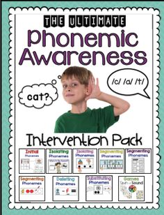 Phonemic Awareness Intervention Pack: Part 2