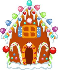 gingerbread house clipart - Google Search