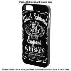 Custom Black Sabbath #daniel Cover iPhone 4 4s 5 5s 5c 6 6s 6+ 6s+ Samsung Case