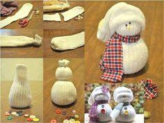 Sock Snowman Tutorial
