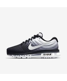 online retailer e6acb 2866c Nike Air Max 2017 Black White Womens Shoes Off Clearance Sale.