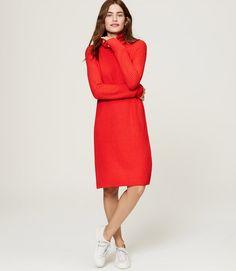 Primary Image of Turtleneck Sweater Dress